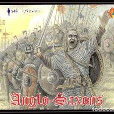 Hobbys: CAJA CON GUERREROS ANGLOSAJONES (SIGLOS IX-XI D.C.) DE STRELETS A ESCALA A 1/72. Lote 263197470