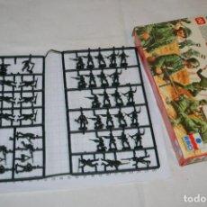 Hobbys: ANTIGUA CAJA ESCI - GERMAN SOLDIERS / SOLDADOS ALEMANES, 2ª GUERRA M. - ESCALA 1/72 1:72 - ¡RARA!. Lote 269242118