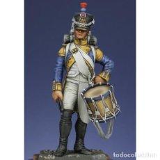 Hobbys: TAMBOR DEL 42º REGIMIENTO DE FUSILEROS, 1807. METAL MODELES. 54 MM. Lote 272232423