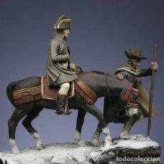 Hobbys: BONAPARTE ATRAVESANDO LOS ALPES EL 20 DE MAYO DE 1800. METAL MODELES. 54 MM. Lote 273618628