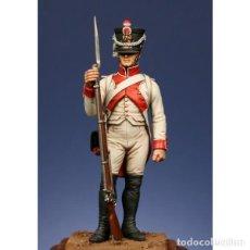 Hobbys: FUSILERO DE 1807 CON UNIFORME BLANCO. METAL MODELES. 54 MM. Lote 273651618