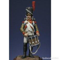 Hobbys: TAMBOR DE GRANADEROS, 1809. METAL MODELES. 54 MM. Lote 273664613