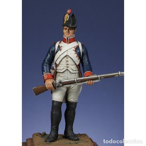 FUSILERO, 1804-1807. METAL MODELES. 54 MM (Juguetes - Modelismo y Radiocontrol - Figuras en miniatura)