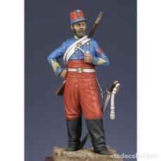 Hobbys: BRIGADA DE CAZADORES DE ÁFRICA. CRIMEA, 1854. METAL MODELES. 54 MM. Lote 275456033