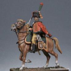 Hobbys: CAZADOR A CABALLO DE LA GAURDIA EN UNIFORME DE VERANO. METAL MODELES. 54 MM. Lote 276917303
