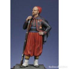 Hobbys: ZUAVO. CRIMEA 1854- 1856. METAL MODELES. 54 MM. Lote 277729978