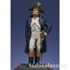Hobbys: OFICIAL CON REDINGOTE. METAL MODELES. 54 MM. Lote 277736138