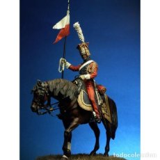 Hobbys: LANCERO DE LA GUARDIA IMPERIAL. 1811-1815. PEGASO MODELS. 75 MM. Lote 279346233