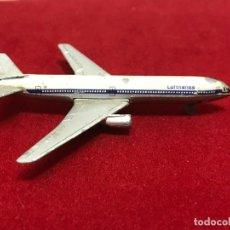 Hobbys: MINIATURA AVIÓN DOUGLAS DC10 LUFTHANSA SCHUCO MADE IN GERMANY. Lote 280297738