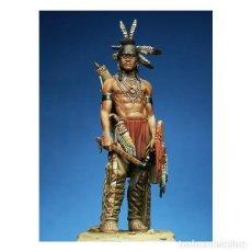 Hobbys: GUERRERO PIES NEGROS. PEGASO MODELS. 75 MM. Lote 280976348