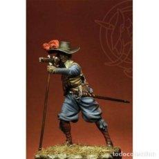 Hobbys: MOSQUETERO FRANCÉS. INICIOS DE LA GUERRA DE LOS TREINTA AÑOS. ROMEO MODELS. 75 MM. Lote 281009018