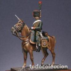 Hobbys: CAZADOR MONTADO DE LA GUARDIA EN UNIFORME DE VERANO. METAL MODELES. 54 MM. Lote 281971008