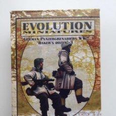 "Hobbys: EVOLUTION MINIATURES GERMAN PANZERGRENADIERS WW2 ""BAKER,S DOZEN""-3 1/35 REF EM-35039. Lote 287923508"