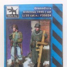 Hobbys: BLACK DOG GRENADIERS ARDENNES 1945 / SET 1/35 CAT.N: F35024. Lote 288362508