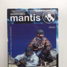 Hobbys: MANTIS MINIATURES SCHWIMMWAGEN CREW ARDENNES ARDENAS 44-45 1/35 REF 35054. Lote 288529303