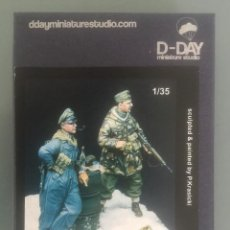 """Hobbys: D-DAY MINIATURE STUDIO """"SIDE BY SIDE"""" HUNGARY 1945 1/35 REF 35009. Lote 288684888"""
