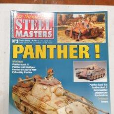 Hobbys: STEEL MASTERS LES THÉMATIQUES. N 2. PANTHER !. Lote 289392023