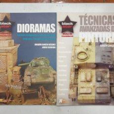 Hobbys: GUÍAS DE MODELISMO. DIORAMAS. TÉCNICAS AVANZADAS DE PINTURA. XTREME MODELLING BLACK STAR. Lote 289419698