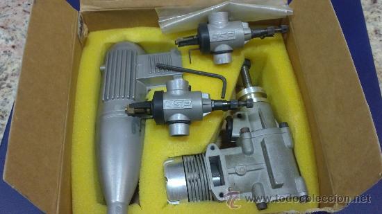 Hobbys: -MOTOR AEROMODELISMO,AVION-61R/C (ASP) NUEVO SIN ESTRENAR - Foto 5 - 33757040