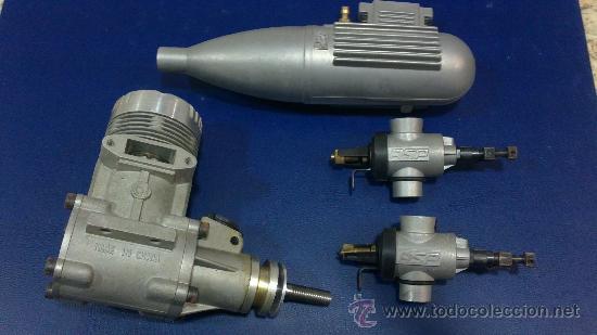 -MOTOR AEROMODELISMO,AVION-61R/C (ASP) NUEVO SIN ESTRENAR (Juguetes - Modelismo y Radiocontrol - Motores)