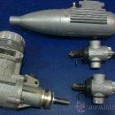 Hobbys: -MOTOR AEROMODELISMO,AVION-61R/C (ASP) NUEVO SIN ESTRENAR. Lote 33757040