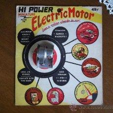 Hobbys: KIT USA DEL AÑO 1960 DE UN MOTOR ELECTRICO. Lote 34355226