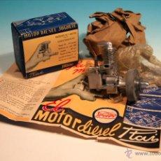 Hobbys: MOTOR DIESEL JUGUETE PAYA AÑOS 50. Lote 171228299