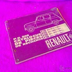 Hobbys: CATALOGO DE PIEZAS RENAULT, R1120, R1123, R2102, R2104 1964. Lote 46926717