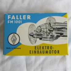 Hobbys: MOTOR ELÉCTRICO FALLER FM 1001 MOTOR HÉLICE PARA MONTAR EN AVIÓN. FABRICACIÓN ALEMANA. Lote 60648823