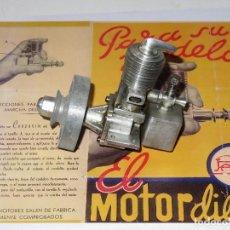 Hobbys: MOTOR PAYÀ PARA MODELISMO A GASOLINA DE 2 CC DIESEL. Lote 87541480