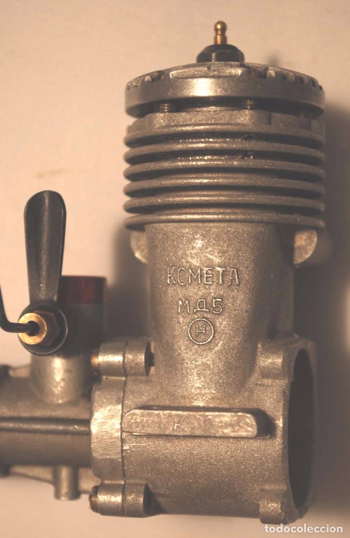 Hobbys: MOTOR KOMETA M 5 Z. MODELISMO. URSS. CCCP. - Foto 2 - 98495519