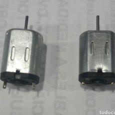 Hobbys: 2 MOTORES ELECTRICOS MINI .GRATIS ENVIO. Lote 155810821