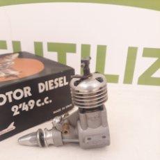 Hobbys: MOTOR ZOM MK-2 DIESEL DE 2.49 C.C MADE IN SPAIN.. Lote 167536069