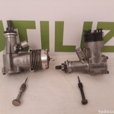Hobbys: 2 MOTORES MODELISMO.MOTOR MCCOY 19.MOTOR THUNDER TIGER 20 MADE IN TAIWAN.. Lote 167666320