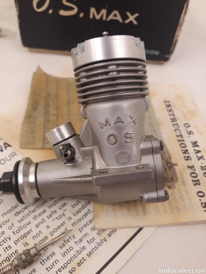 Hobbys: Motor O.S Max 20 R C.Made in Japan.Con piezas de repuesto.(ver fotos). - Foto 2 - 167668888