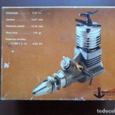 Hobbys: MOTOR MODELHOB ZOM MK3 - DIESEL - 2,49 CC. - MADE IN SPAIN - 1979. Lote 177324884