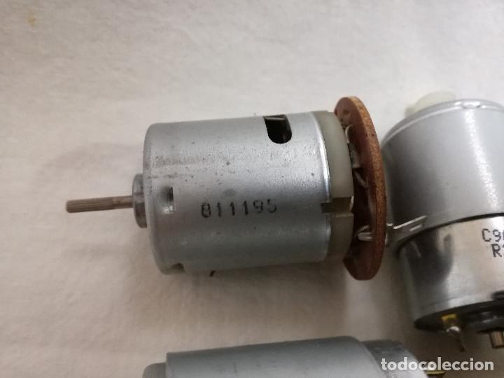 Hobbys: LOTE DE 9 MOTORES PQUEÑOS ELECTRICOS (TODOS FUNCIONAN) - Foto 3 - 200622330