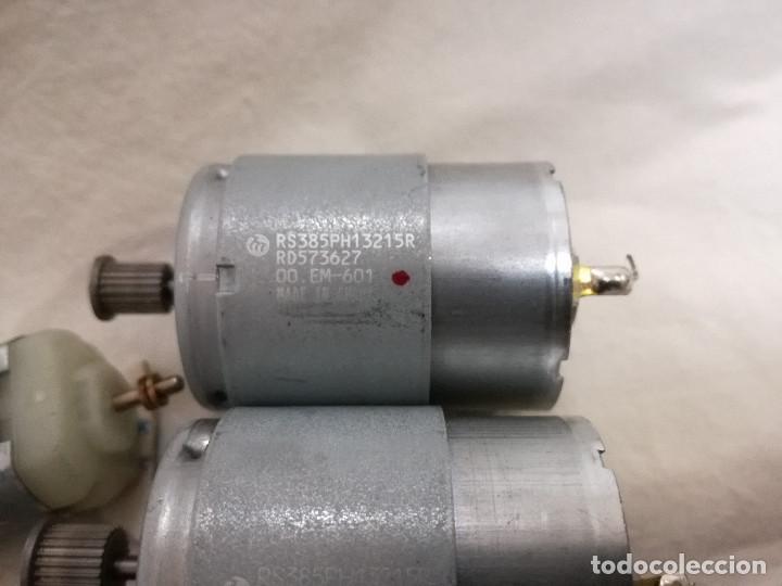 Hobbys: LOTE DE 9 MOTORES PQUEÑOS ELECTRICOS (TODOS FUNCIONAN) - Foto 7 - 200622330