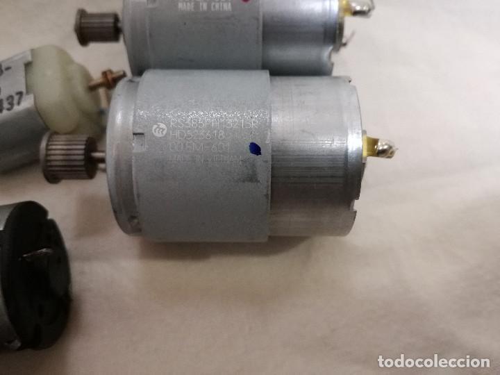 Hobbys: LOTE DE 9 MOTORES PQUEÑOS ELECTRICOS (TODOS FUNCIONAN) - Foto 8 - 200622330