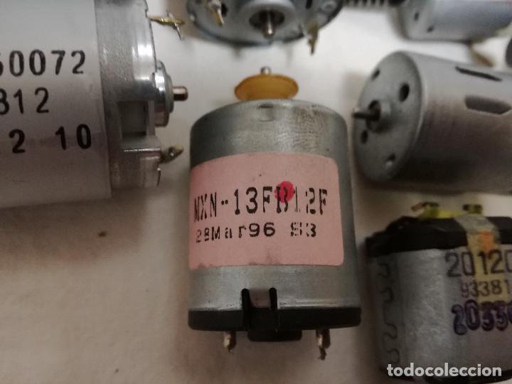 Hobbys: LOTE DE 9 MOTORES PQUEÑOS ELECTRICOS (TODOS FUNCIONAN) - Foto 9 - 200622330