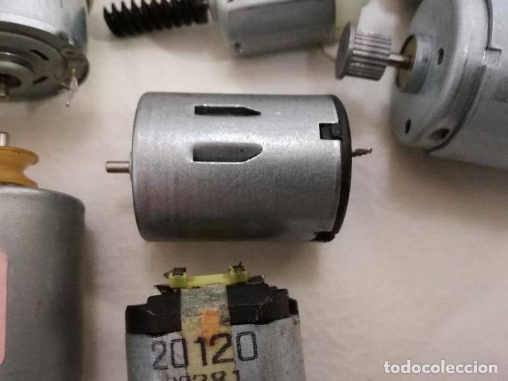 Hobbys: LOTE DE 9 MOTORES PQUEÑOS ELECTRICOS (TODOS FUNCIONAN) - Foto 11 - 200622330