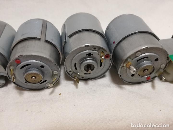 Hobbys: LOTE DE 9 MOTORES PQUEÑOS ELECTRICOS (TODOS FUNCIONAN) - Foto 16 - 200622330