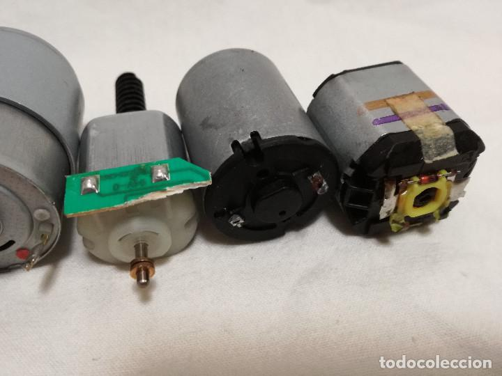 Hobbys: LOTE DE 9 MOTORES PQUEÑOS ELECTRICOS (TODOS FUNCIONAN) - Foto 17 - 200622330