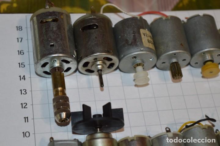 Hobbys: Lote variado motores eléctricos - Para vehículos, maquetas, etc.. - ¡Mira fotos y detalles! LOTE 01 - Foto 2 - 224053126