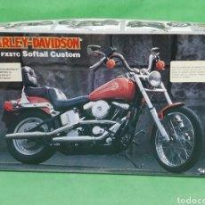 Hobbys: MAQUETA HARLEY DAVIDSON FXSTC SOFTAIL CUSTOM 1/12 IMAI. Lote 213312708