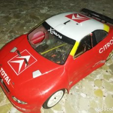 Hobbys: COCHE RC GASOLINA CITROEN XSARA WRC MONTECARLO 2003 ALTAYA (C. SAINZ / M. MARTI ). Lote 222481581