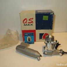 Hobbys: ANTIGUO MOTOR MODELISMO OS MAX FP 15 AÑOS 80 NUEVO SIN ESTRENAR EN SU CAJA,BARATO. Lote 225037545