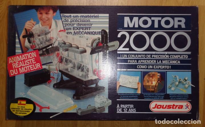 MOTOR 2000 DE JOUSTRA (VINTAGE, ANTIGUO, AÑOS 80) (Juguetes - Modelismo y Radiocontrol - Motores)