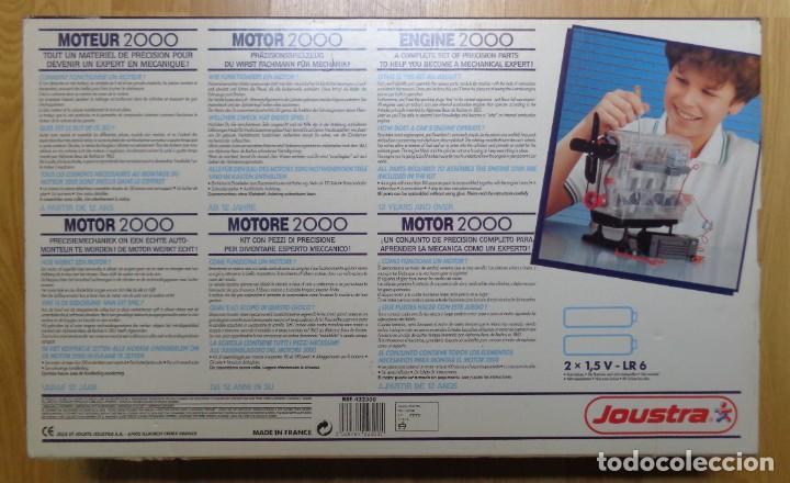 Hobbys: MOTOR 2000 DE JOUSTRA (VINTAGE, ANTIGUO, AÑOS 80) - Foto 2 - 230297460