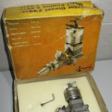 Hobbys: MOTOR DIESEL ZOM MK3 MODELHOB, AEROMODELISMO, MADE IN SPAIN. Lote 266971969